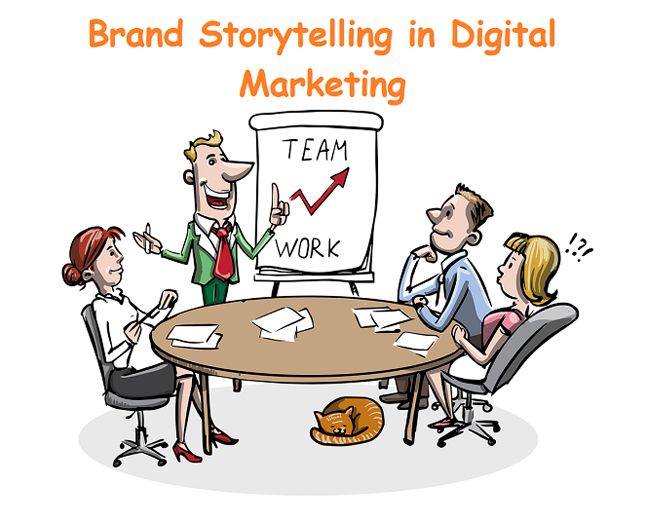 Brand Storytelling in Digital Marketing