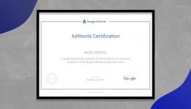 Mind Digital is Now a Google AdWords Certified Company