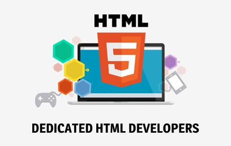 html dedicated developer